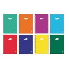 Bloc Espiral Pacsa Cuadricula 4x4, cuarto, A5 libreta espiral, cuaderno escolar