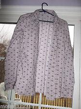 Victoria's Secret Long Sleeve sleep shirt 100% Cotton pajama top