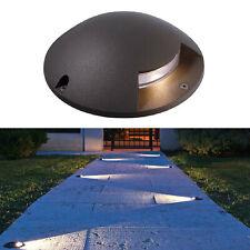 Faretto calpestabile pavimento LED segna passi radente 1 finestra luce 12V IP65