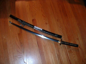 [SF004] Japanese Samurai Sword:  Mumei Koto Katana in Koshirae  69.3 CM