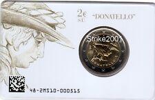 2 EURO COMMEMORATIVO ITALIA 2016 Donatello in Folder