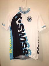 Mens K-Swiss 1/2 Zip Cycling Jersey Size Large