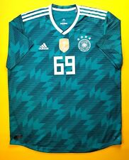 5+/5 Germany climachill player issue jersey 2XL 2018 shirt BR3143 Adidas ig93