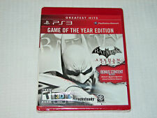 Batman: Arkham City -- Game of the Year Edition (Sony PlayStation 3, PS3)  *NEW*