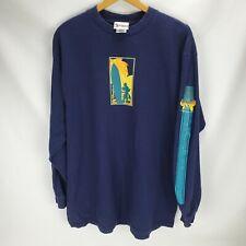 New listing Vintage 90s Mickey Mouse Surf L/S T Shirt Walt Disney World Men's XL