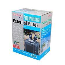 100 Gal Fish Tank External Canister Filter w/ Built-in Pump Self Priming + Media