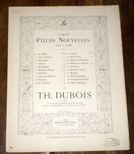 chanson d'Orient partition piano 1900 Théodore Dubois