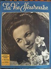 revue magazine LA VIE HEUREUSE n°19 - 1 mai 1946 - mode vintage