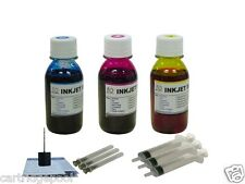 Refill Ink for CANON CL-41 MP190 210 450 460 MX300 MX310 MP470 MP170 3X4OZ/S