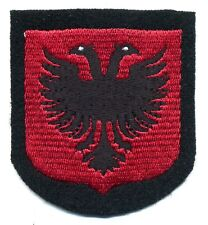 VOLONTARI Albania elite ww2 scudetto da braccio Albanian Volunteer shield