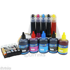 CISS & Ink Set For Canon PIXMA MG5220 RFB MG5320 iX6520 MX712 MX880 MX882 MX892