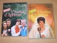 LOT 2 DVD / LA VOCATION D'ADRIENNE 1 ET 2 / ANNIE DUPEREY / TRES BON ETAT