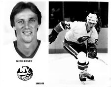 Mike Bossy New York Islanders 8x10 Photo 1982-83 Season