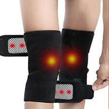 1 Pair Unisex Self Heating Kneepad Magnetic Therapy Support Belt Knee Band AU