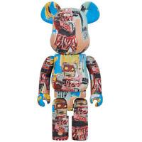 Jean-Michel Basquiat #6 1000% Bearbrick Medicom Be@rbrick 2020 Rare Limited