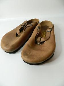 Birkenstock MARY JANE Leather Women Summer Trend Sandals Shoe Sz 42 L11 M9