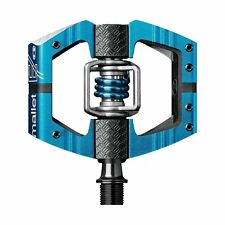 Crank Brothers Mallet E Bike Pedals Enduro Ride & Race - Blue