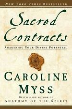 Sacred Contracts: Awakening Your Divine Potential Caroline Myss Softcover. NEW