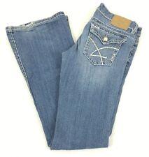 Womens Amethyst Bootcut Denim Blue Jeans Size 3