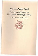 Newcomen History of Boyd Campbell Mississippi School Supply Company