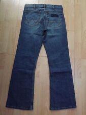 Wrangler Indigo, Dark wash Regular 30L Jeans for Men