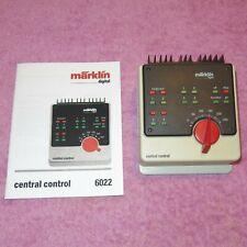 MÄRKLIN DIGITAL Central Control 6022 mit Garantie.