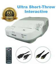 Epson 475Wi 3LCD Projector Ultra Short Throw Interactive Multimedia HDMI bundle