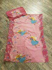 Kinder Bettwäsche 90x125cm Decke 55x40 Kissen Fee