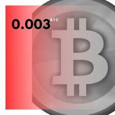 Bitcoin 3 Hours Mining Contract (Guaranteed 0.003 BTC)