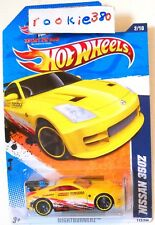 2011 Hot Wheels NIGHTBURNERZ #112 * NISSAN 350z * YELLOW LEEWAY FUKUOKA USLC IWC