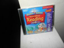 Reader Rabbit Personalized Reading Ages 4-6 Pc Software (1999) New Sealed