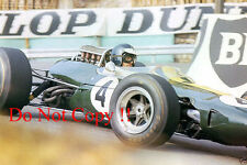 Jim Clark Lotus 33 Monaco Grand Prix 1966 Photograph 1