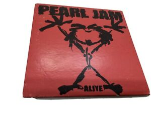 Pearl Jam 'alive' Cd. Red Card Cover. Australian Import