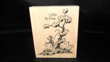 Little Bo Peep Stampabilities Rubber Stamp Wood Mounted Nursery Rhymes KR1041
