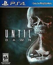 Until Dawn - Sony Playstation 4 Game - Complete