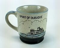 Vintage Spirit of Dubuque Iowa Glazed Mug