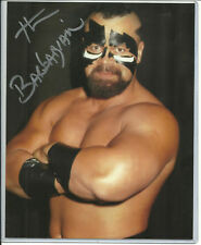 THE BARBARIAN 2017 LEAF AUTOGRAPH 8X10 PHOTO WWE SUPERSTAR LEAF CERTIFIED