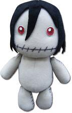 "NEW Black Butler Sebastian Made By Grell 7"" Plush Doll Official Licensed GE87537"