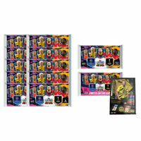 2020-21 TOPPS MATCH ATTAX CHAMPIONS LEAGUE 12 PACKS 70 CARDS + LE HAALAND CARD