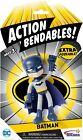 NJ CROCE ACTION BENDABLES - DC COMICS - BATMAN DARK KNIGHT - BENDABLE FIGURE