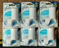 6 new Glade Plug Ins Scented Oil Warmers