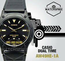 Casio Analog Digital Dual Time Watch Aw49he-1a