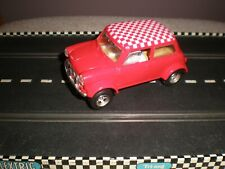 Scalextric Mini Cooper Rally (Red)  V/G Condition  Unboxed Used C150