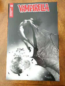 VAMPIRELLA #19 ERGUN GUNDUZ COVER 1:20 INCENTIVE B&W VARIANT - NM