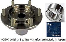 2001-2007 Toyota Sequoia 4WD Front Wheel Hub & Bearing Kit Assembly (OEM) KOYO