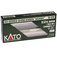 Kato 10-378 Series E2 Shinkansen Asama 2 Cars Add-on Set - N