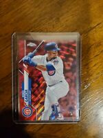 2020 Topps Chrome Sapphire ROBEL GARCIA Red Refractor Parallel 4/5 CUBS RC SSP