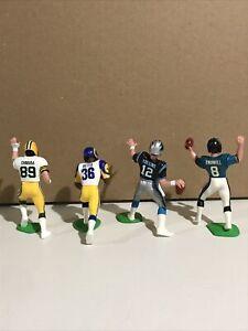 NFL Starting Lineup Football - SLU - NFL Loose Lot w/ Helmets