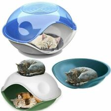 Waterproof Outdoor Plastic Shelter Pet Cat Kitten Dog Bed House Kennel Crate Pod