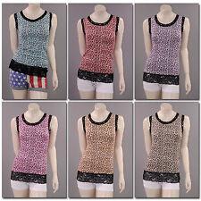 Ärmellose Hüftlang Damenblusen,-Tops & -Shirts im Tuniken-Stil für Party